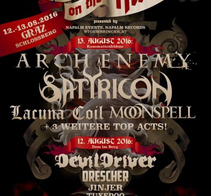 METAL ON THE HILL 2016